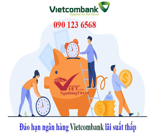 Đáo hạn ngân hàng Vietcombank