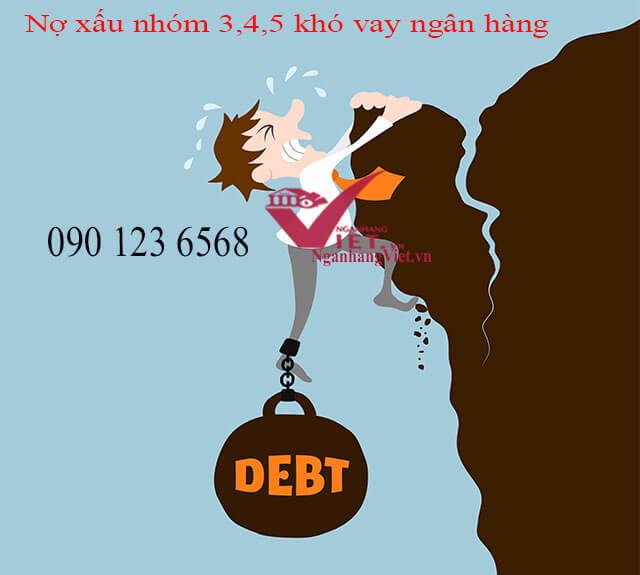 Khó vay ngân hàng khi bị nợ xấu