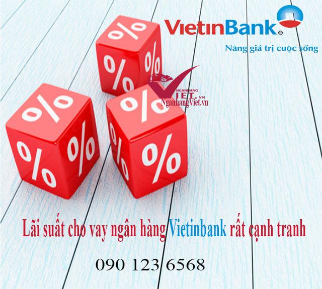 Lãi suất cho vay ngân hàng Vietinbank