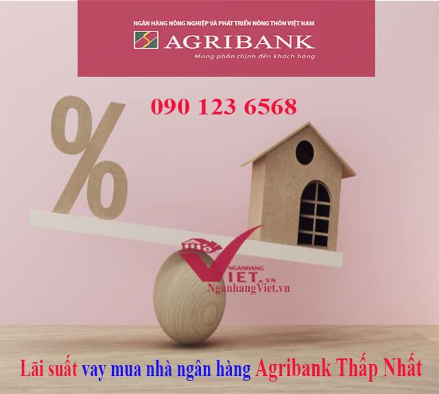 Lãi suất vay mua nhà ngân hàng Agribank