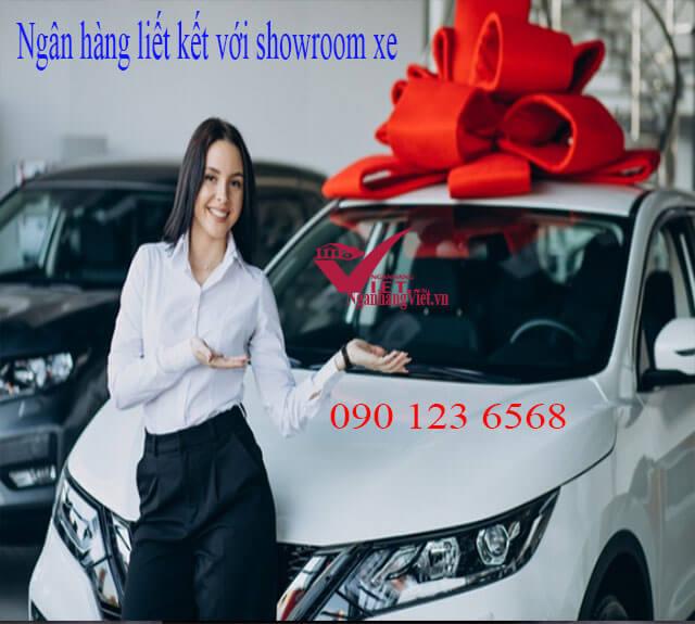 Ngân hàng liên kết với showroom