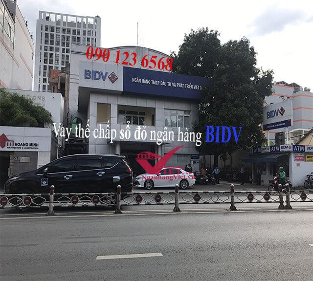 Vay thế chấp sổ đỏ ngân hàng BIDV
