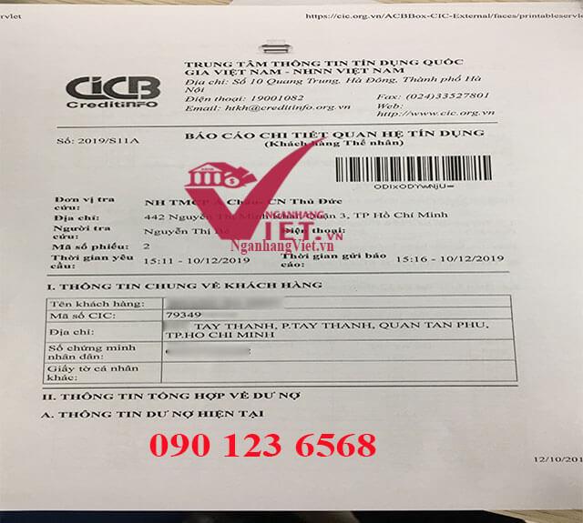 Thông tin CIC